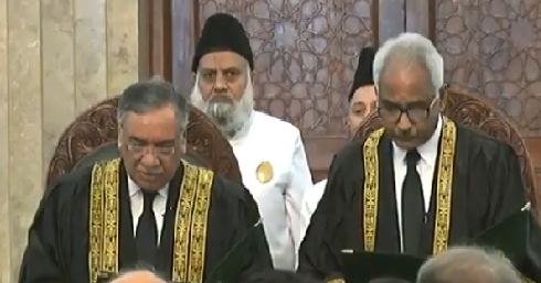 justice qazi muhammad amin sworn in as sc judge