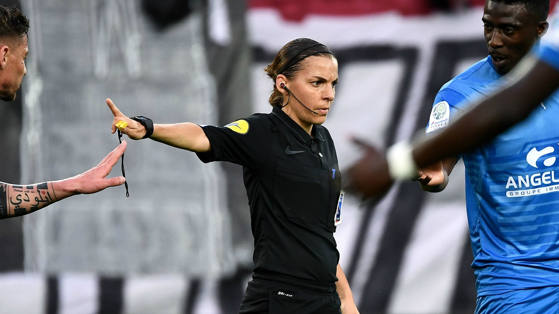 frappart set to become first female ligue 1 referee