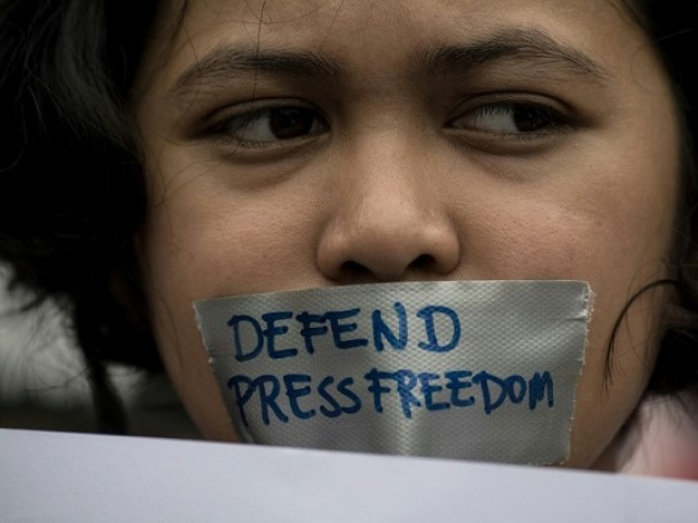 Abducting journalists is another common tactic to intimidate. PHOTO: FILE