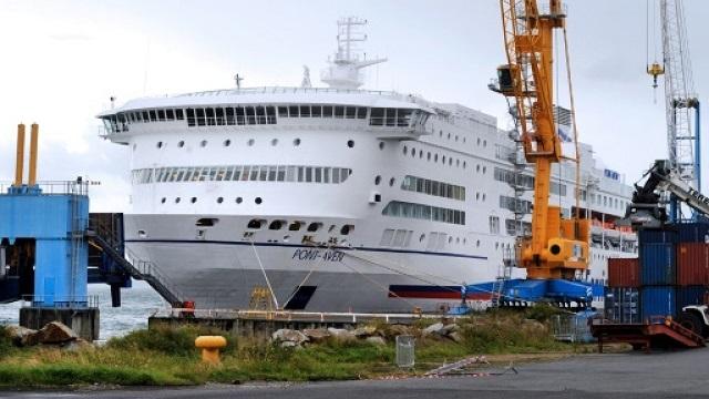 fire breaks out on britain spain ferry