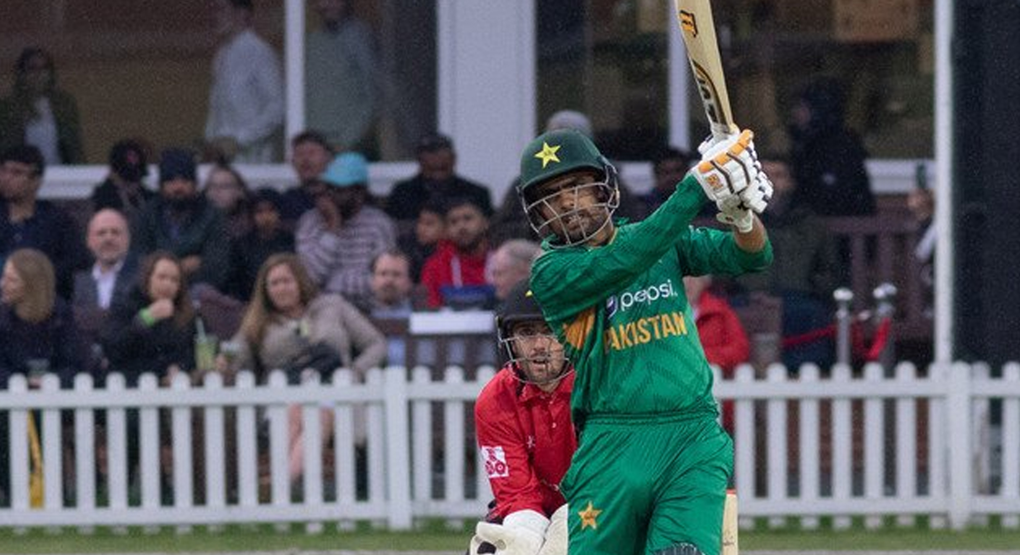 azam s century helps pakistan stroll to victory over leicestershire