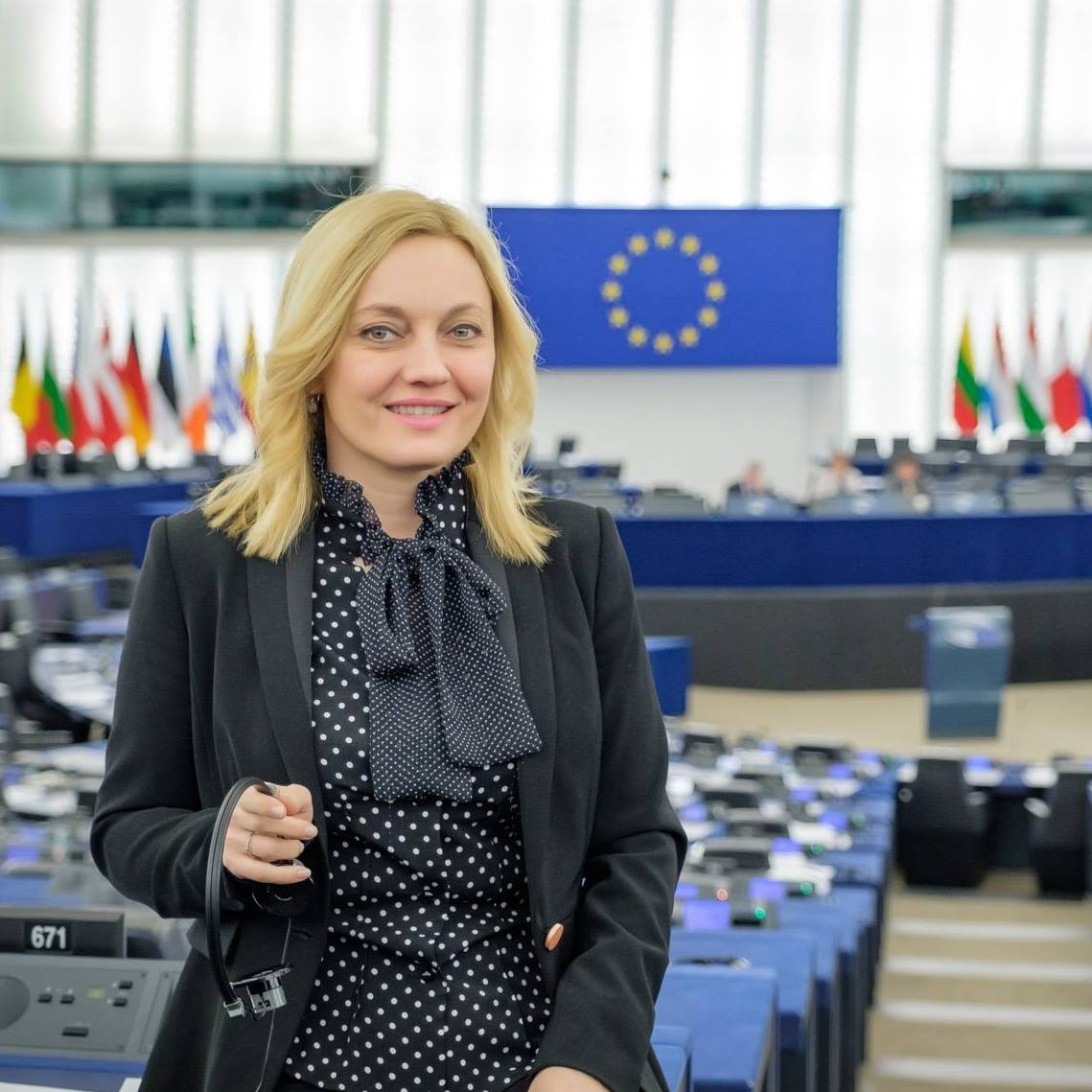 eu parliamentarian marijana petir photo facebook