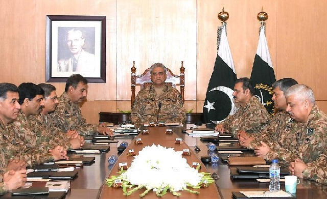 221st Corps Commanders Conference: ISPR