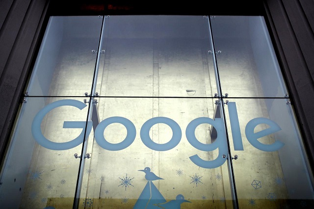 The outside of the Google offices is seen in Manhattan in New York City, New York, US, January 18, 2019. PHOTO: REUTERS