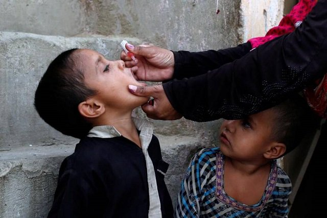 sindh s 2nd polio case this year surfaces in larkana