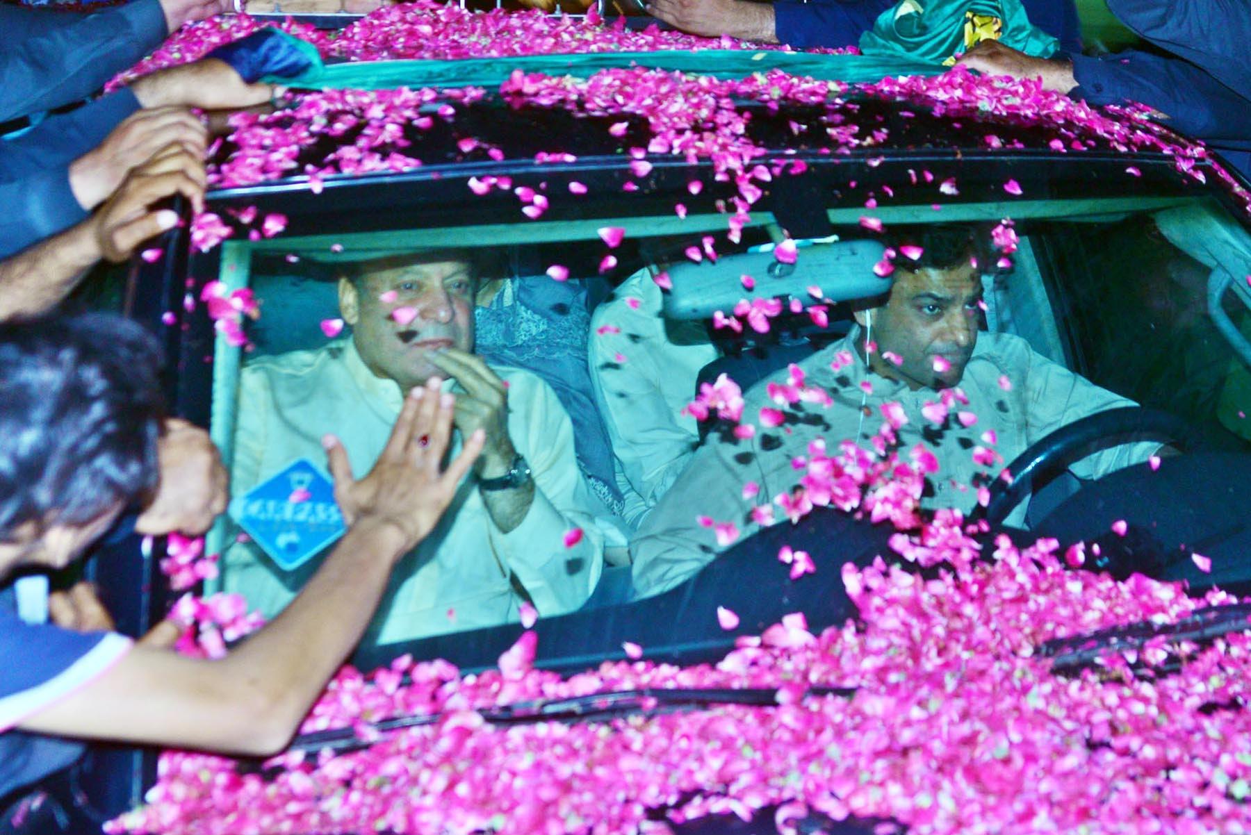 nawaz sharif back in kot lakhpat jail
