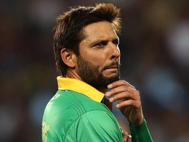 Former Pakistan cricket team captain Shahid Afridi. PHOTO: AFP
