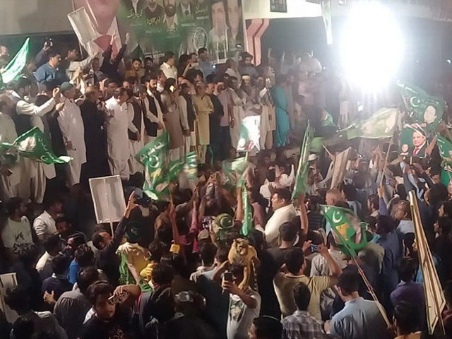 fir lodged against pml n workers after nawaz rally