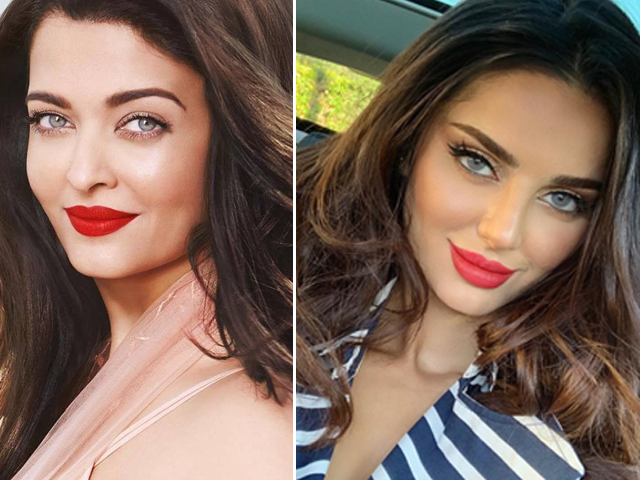 indian media has found aishwarya rai s lookalike in iranian model
