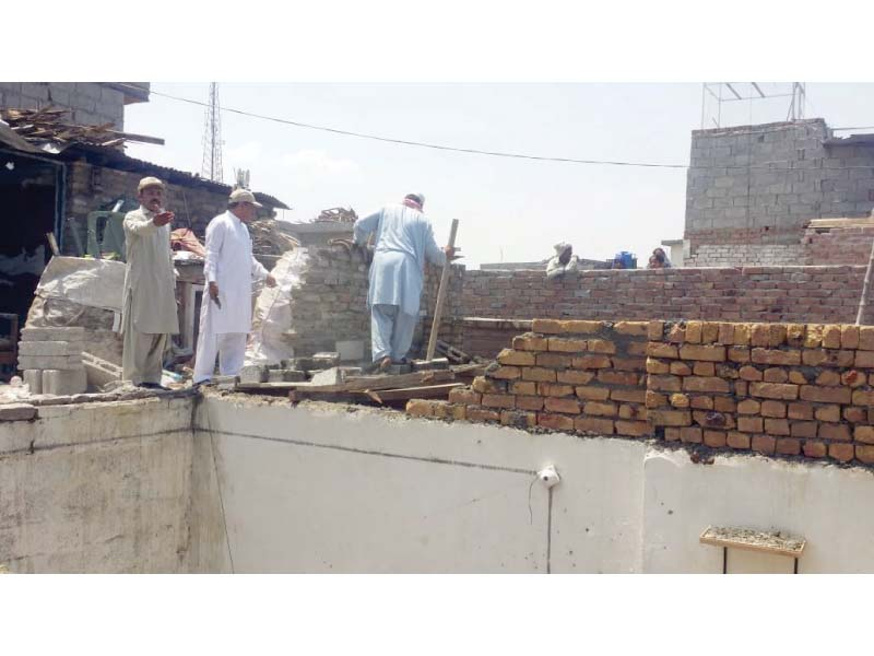 cda to check slum dwellers on off days
