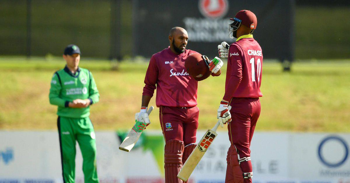 ambris ton helps west indies make record chase against ireland