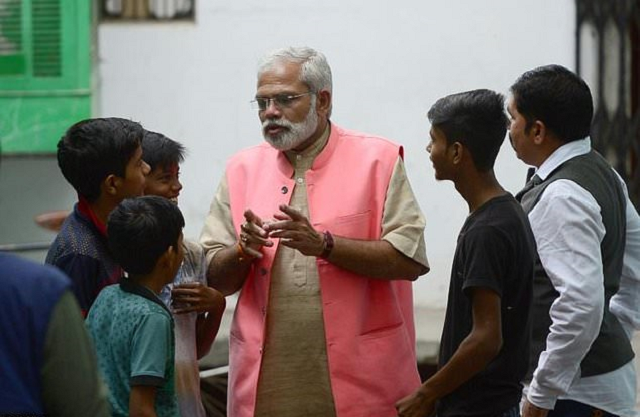 i am the original modi lookalike hits campaign trail