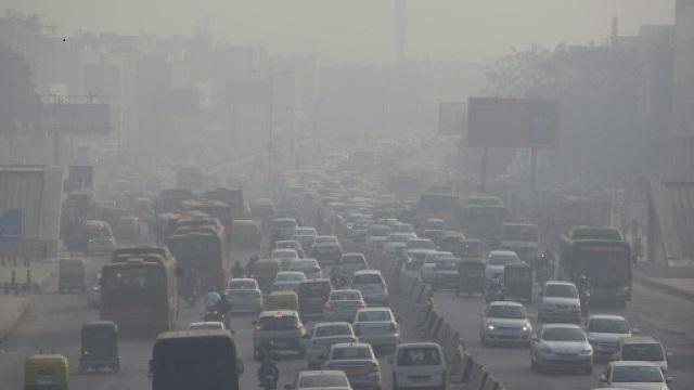 new delhi hit by rare summer air pollution alert
