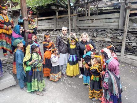 tourists throng kalash valley for spring festival