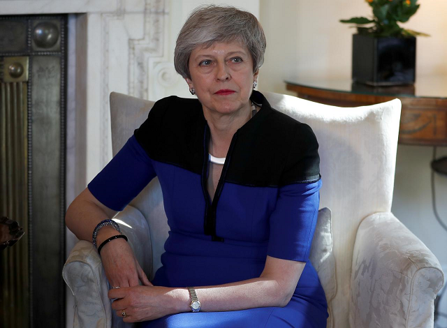'It is imperative we do so then if the UK is to leave the EU before the summer parliamentary recess'. PHOTO: REUTERS