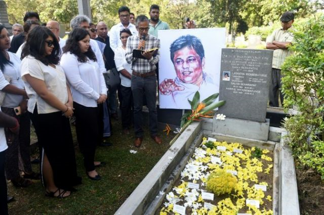 alarm over sri lanka reinstating major accused of journalist murder