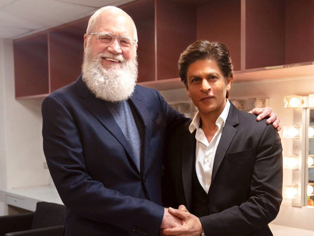 shah rukh khan to appear on david letterman s show