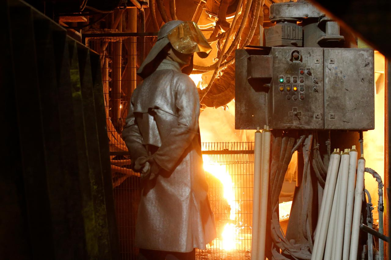 Steel producer has sought £30 million in loan from the govt. PHOTO: REUTERS