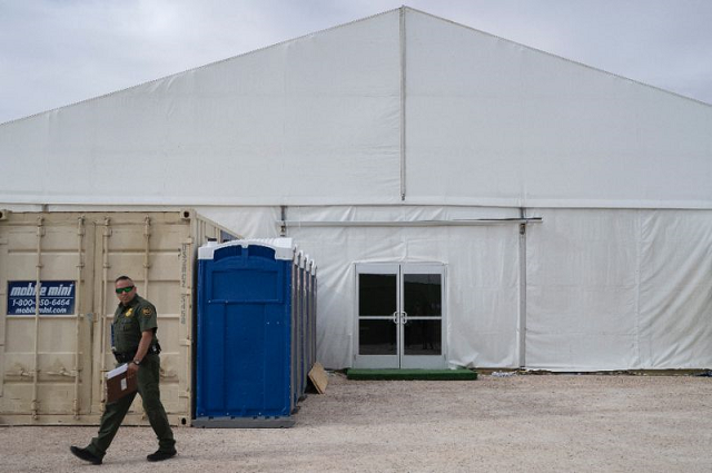 us military to set up tents for migrants on us mexico border