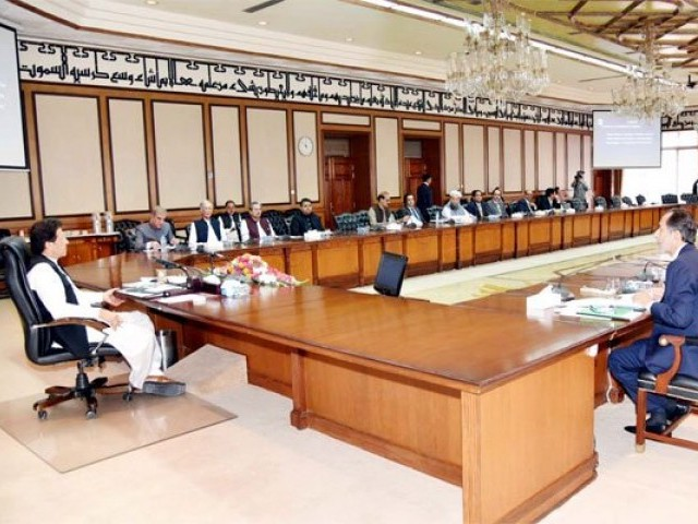 file photo of pm imran khan chairing federal cabinet meeting photo pid