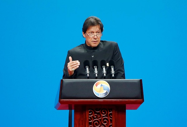 Prime Minister Imran Khan. PHOTO: REUTERS