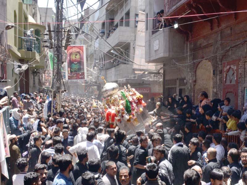 youm e ali procession concludes peacefully