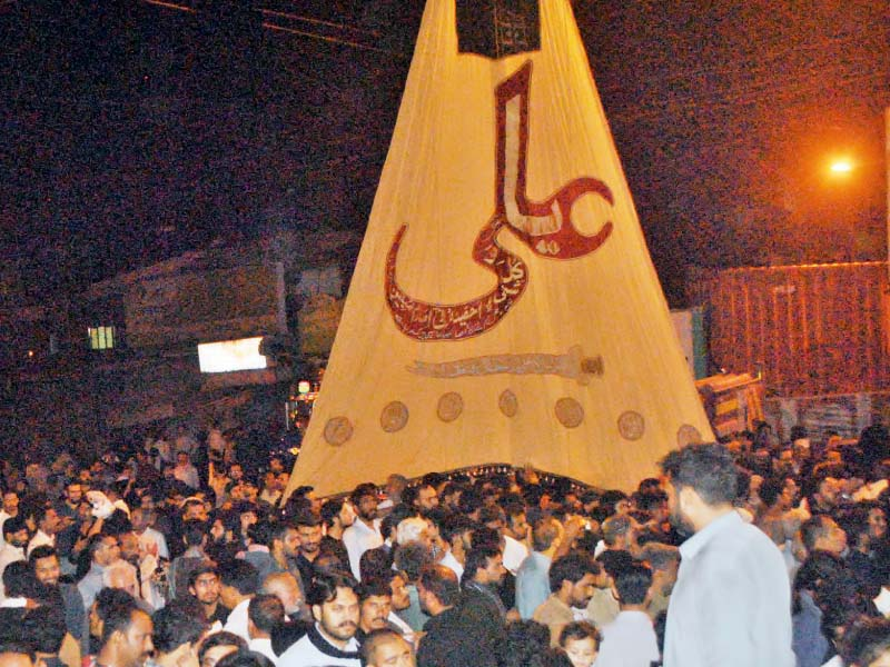 youm e ali procession concludes with call for unity of ummah