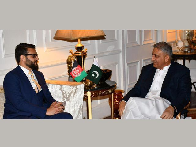 afghan security czar visits pakistan to remove irritants in ties