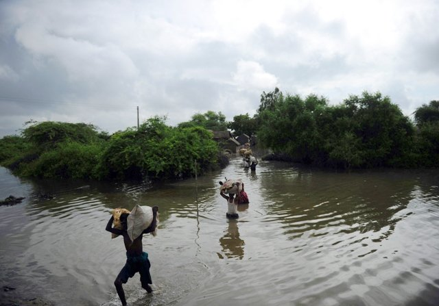 pakistan has been on the receiving end of climate change induced natural disasters photo afp file