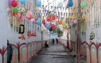 nowshera locality brings festivity to eid celebrations