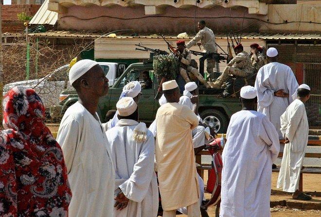 gunfire echoes in khartoum as protest crackdown leaves 60 dead