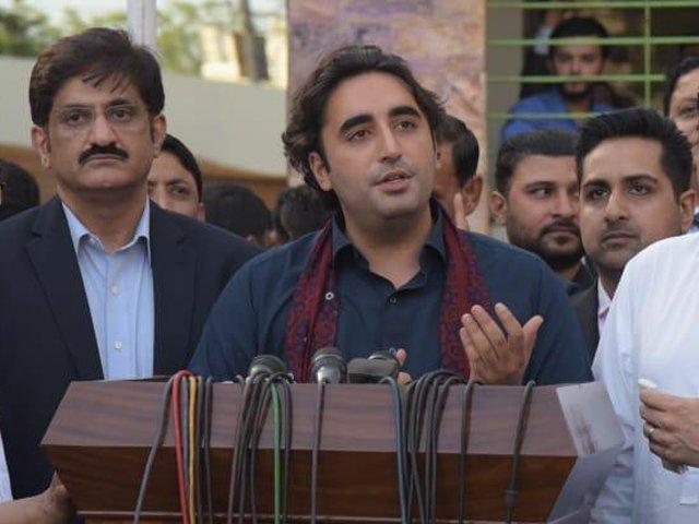 PPP chairman Bilawal Bhutto-Zardari  PHOTO: PPP MEDIA CELL/FILE