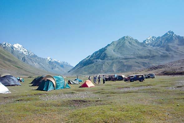 camping pods tent villages serve visitors at k p tourist spots