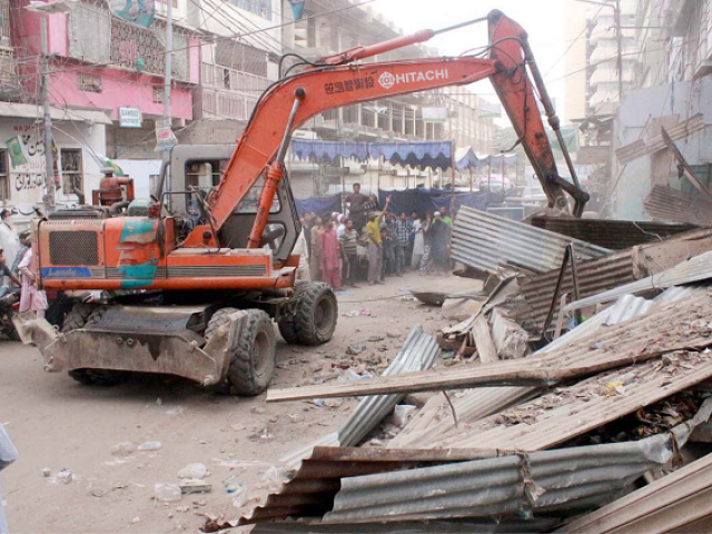 anti encroachment drive along kcr track to continue