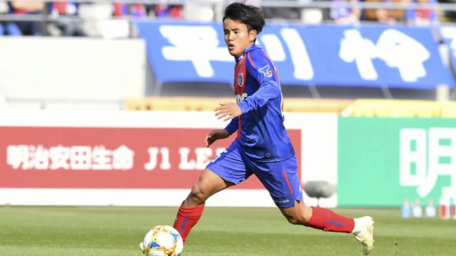 japanese messi set for real madrid move