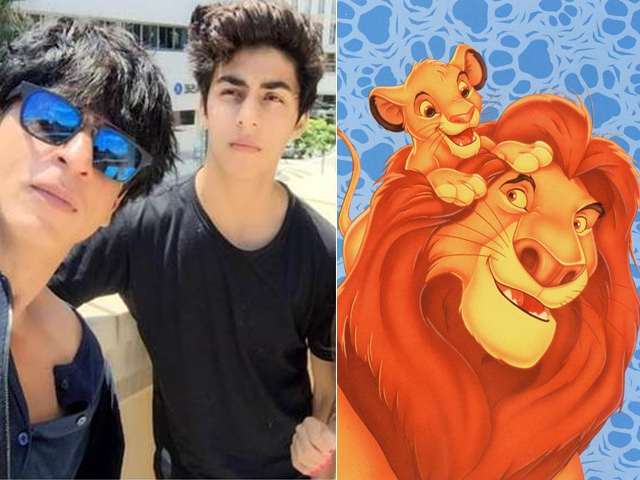 srk aryan to voice mufasa simba in the lion king hindi version