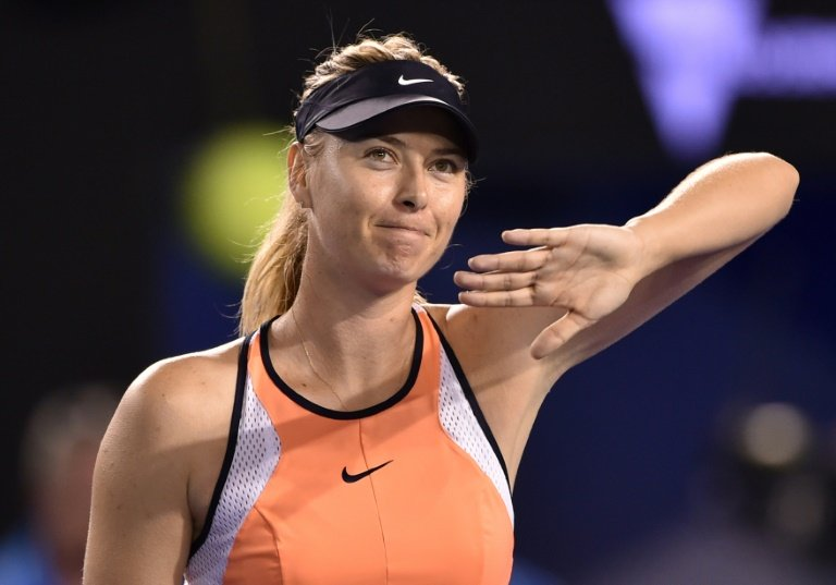 returning sharapova inspired by ultimate fighter nadal
