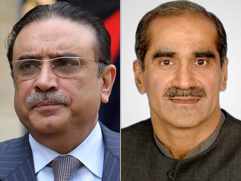 PPP, PML-N leaders to attend ongoing budget session in National Assembly on Thursday. FILE PHOTOS