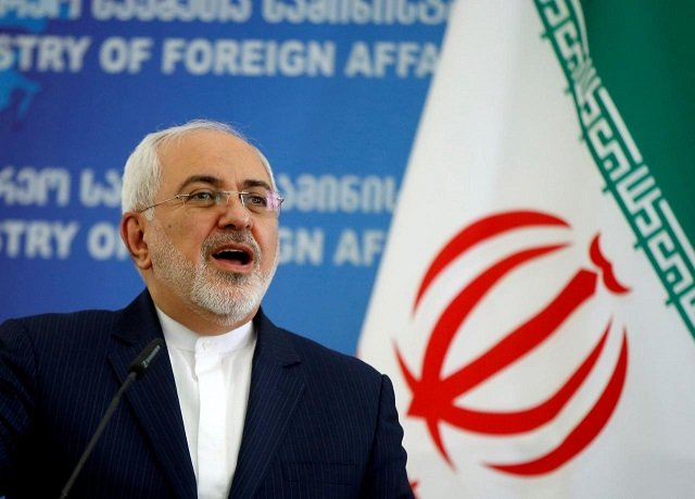 iran fm gives location drone shot down after violated iranian airspace