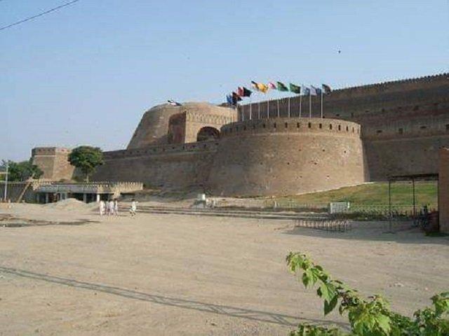 a majestic bulwark on peshawar s skyline