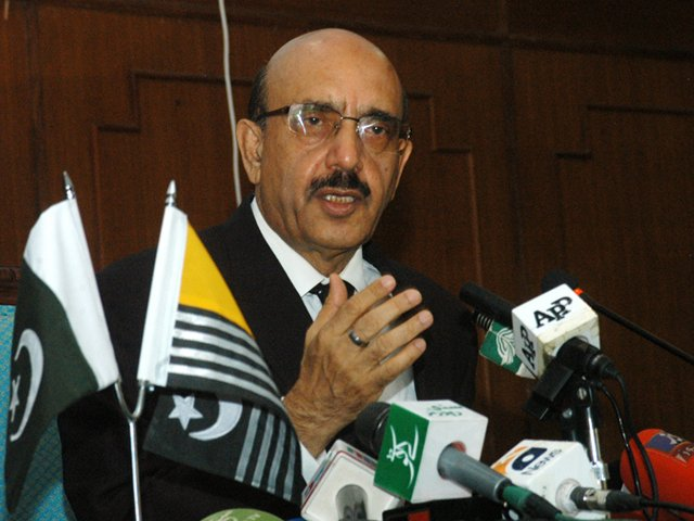ajk president urges youth to thwart conspiracies against pakistan