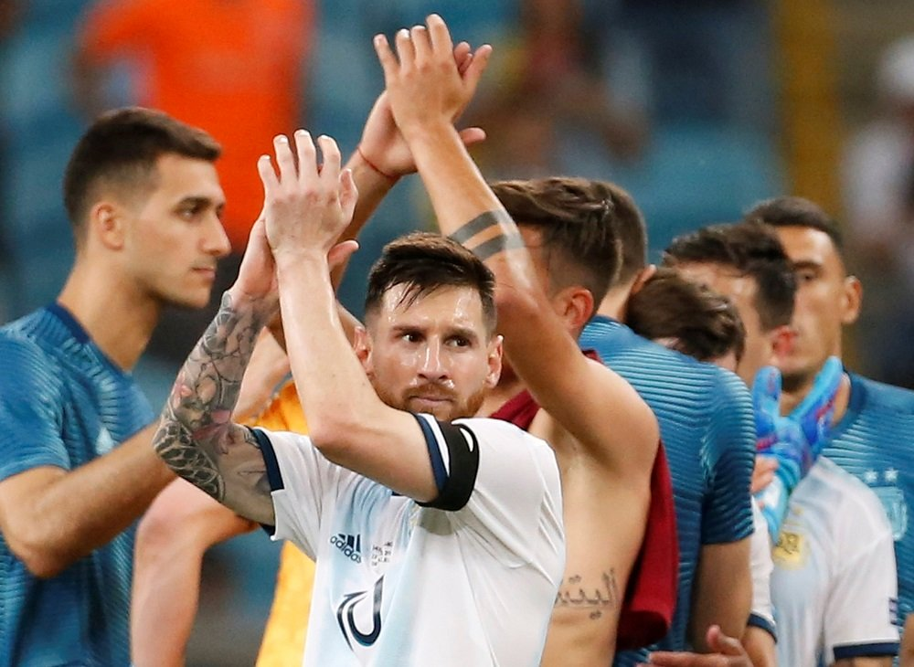 win over qatar can give argentina needed boost messi
