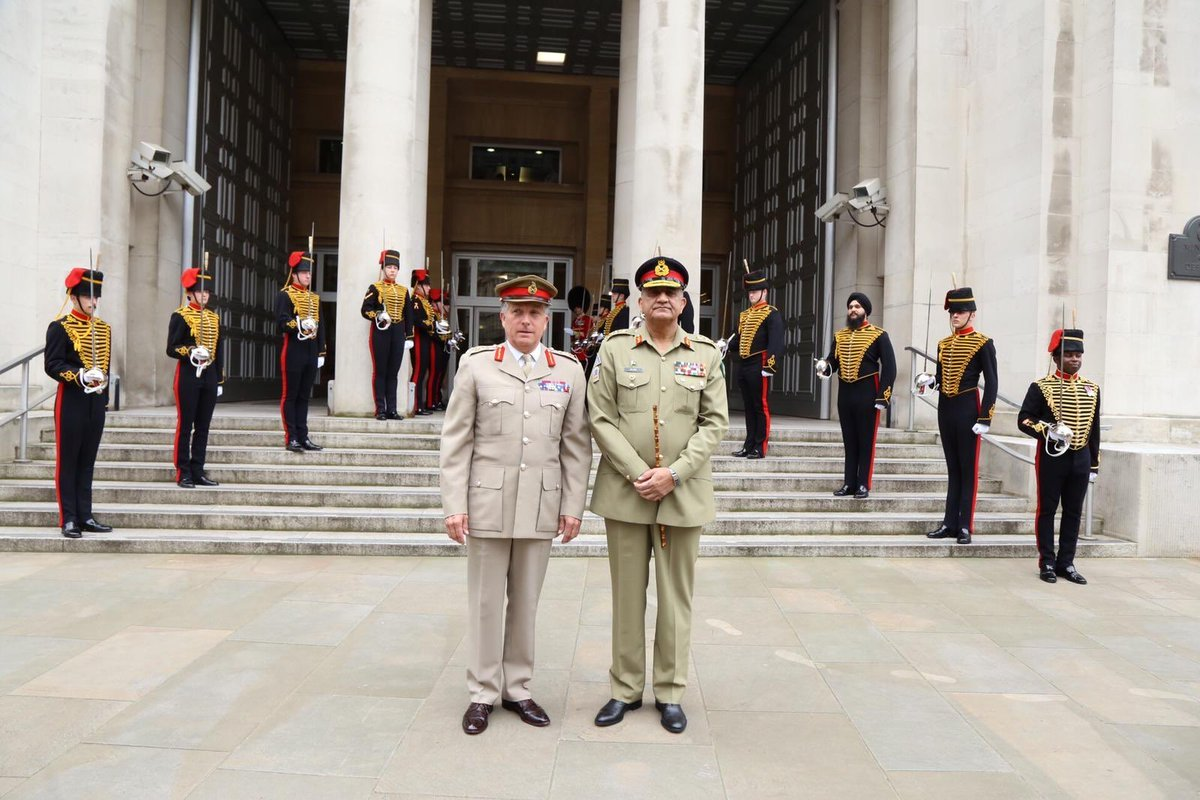 pakistan uk militaries hold strategic dialogue for bilateral cooperation