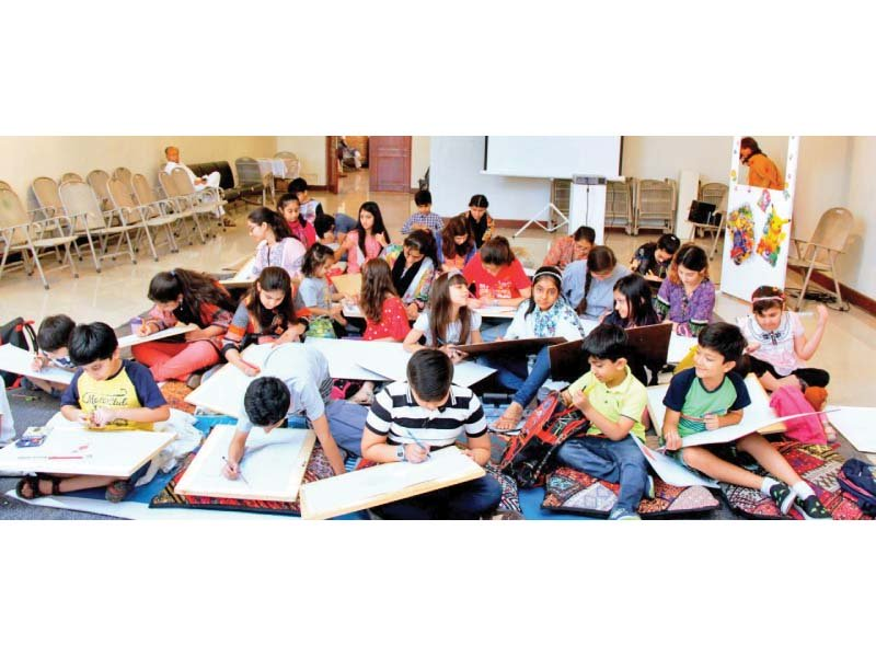 summer camps allow youngsters to explore art