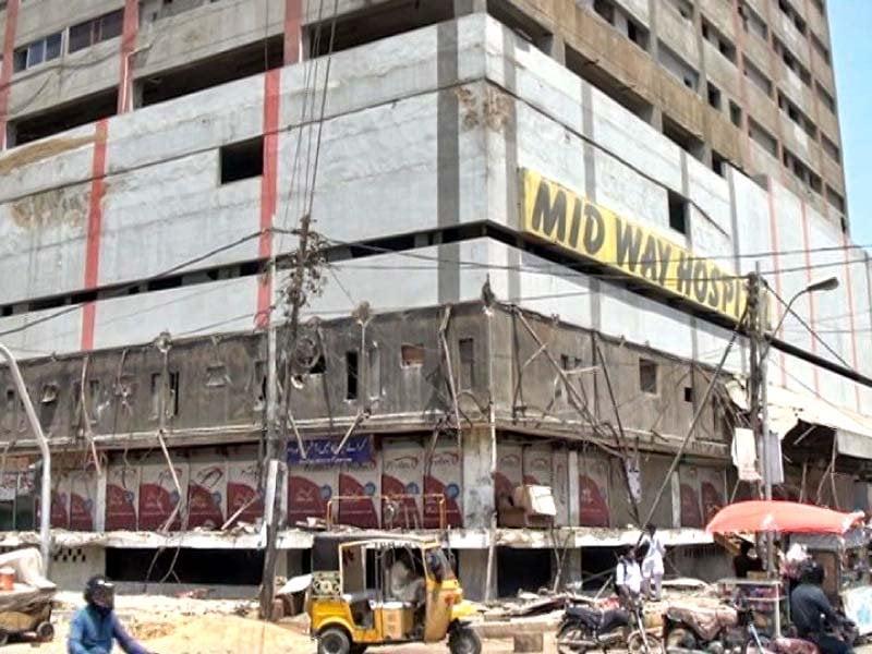 cantonment board halts demolition of sea breeze plaza