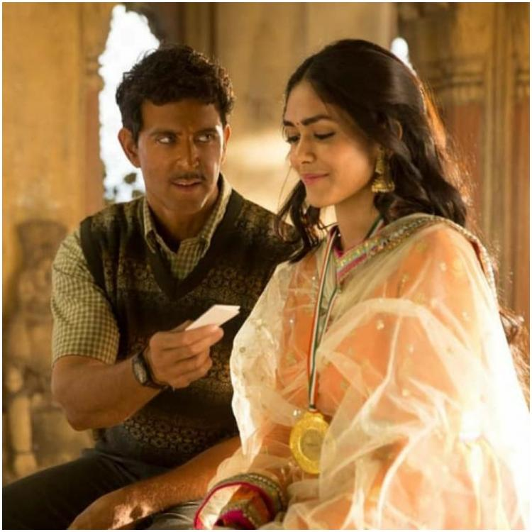 hrithik roshan s super 30 co star defends his browned face in upcoming film