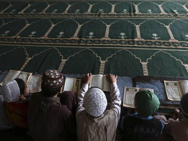 Author says seminaries preserve Islamic heritage. REPRESENTATIONAL IMAGE. PHOTO: EXPRESS/FILE