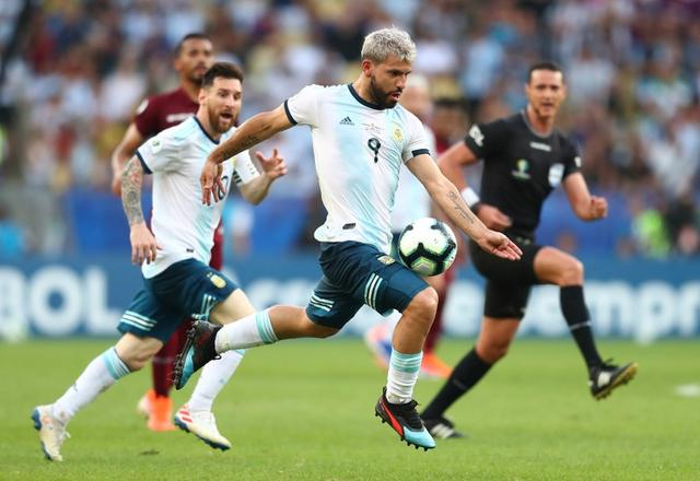 argentina brazil causes a lot of excitement around the world aguero