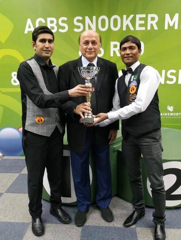 pakistan beat india to win asian team snooker championship