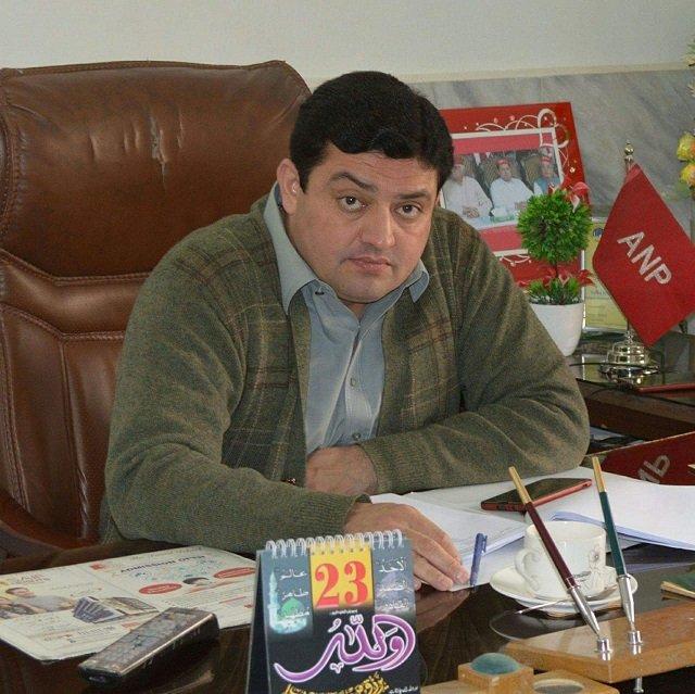 anp district president sartaj khan photo express